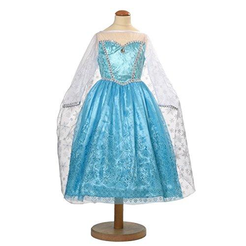 (Kleid ELSA inspiriert von die Eiskönigin (Frozen))