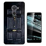 1564 - 221B Sherlock Door Design Vodafone Smart Platinum 7