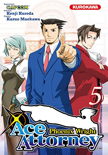 Phoenix wright : ace attorney, Tome 5 : (Ace Attorney 5)