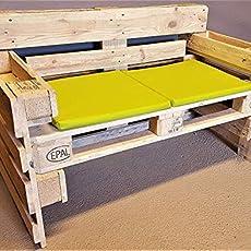 Banco de palets con respaldo & Bancos de madera para ...
