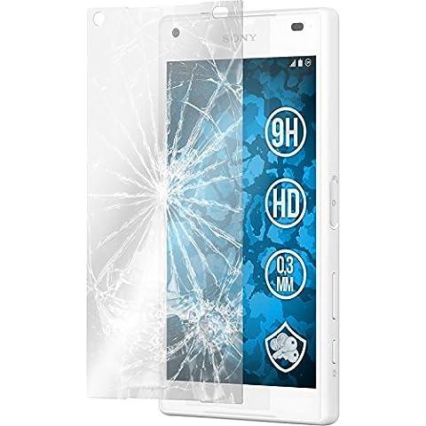 3 x Glas-Folie klar für Sony Xperia Z5 Compact PhoneNatic Panzerglas für Xperia Z5 Compact