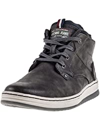 Mustang Side Zip Sneaker Mens Chukka Boots