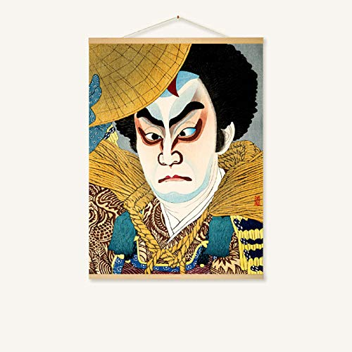 mmzki Hängende Malerei Japanisches Restaurant Wandmalerei-Rollenmalerei 228-A 80 * 60