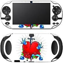 """Motivos Disagu Design Skin para Sony Playstation Vita: """"Gebrochenes Herz"""""""