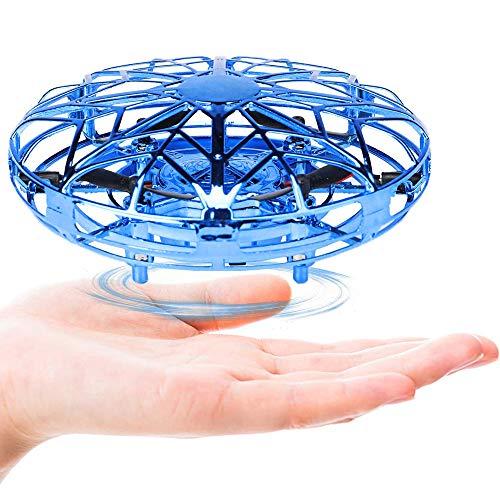 Cypin Mini Drone UFO kids Flying Ball Kinder Toy Handgesteuert LED Leuchte Fliegender Ball Wiederaufladbar Quadcopter Infrarot-Induktion Flugzeuge Spielzeug Outdoor& Indoor Geschenk für ab 3 Jahre alt