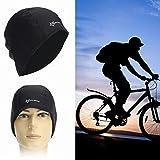 Yongse RockBros Männer Radmütze Black Hat Fleece Winter Thermo Winddichtes Outdoor Sport