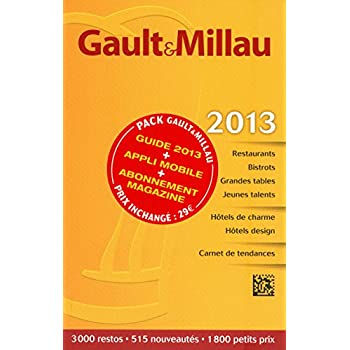 Guide Gault Millau France 2013