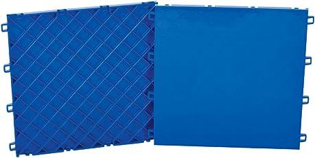 CCM Sniper's Edge Hockey Slick Tiles Dryland Flooring, Dark Blue