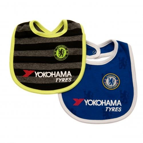Official Chelsea Baby Bibs - 2 Pack - 2016/17 Season...