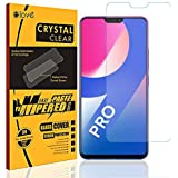 Elove Ultra HD Clear (0.3mm) Flexible Screen Protector [Crystal Clear View] [Anti-Scratch] [ Anti-Fingerprint] [Bubble Free] Tempered Glass for Vivo V9 Pro