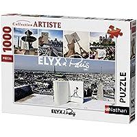 Nathan - 87473 - Puzzle Elyx à Paris 1000 Pièces
