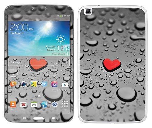 Preisvergleich Produktbild 'Royal Wandtattoo RS. 81929selbstklebend für Samsung Tab 38, Motiv Heart AS A Drain Drop