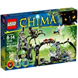 Lego Legends Of Chima - 70133-La Grotte De Spinlyn