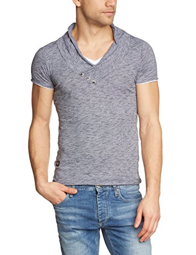 Redbridge Herren T-Shirt R41223 Schwarz (Anthracite 125)