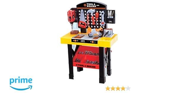 Banco Da Lavoro Giocattolo Black Decker : Set di tavolo e attrezzi da lavoro giocattolo con trapano