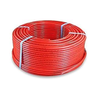 Pexflow PFR-R58100 Pex Tubing 5/8-Inch x 100-Feet Oxygen Barrier, Red by PEXFLOW