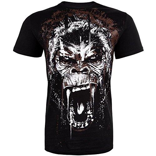 Venum uomo Gorilla t-shirt, Uomo, Gorilla, Black, M