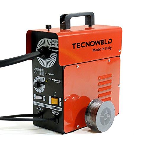 Awelco Saldatrice A Filo Animato No Gas 95Ah Con Accessori Professionale 11002
