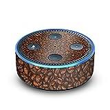 amazon Echo Dot 2.Generation Folie Skin Sticker aus Vinyl-Folie Kaffee Bohnen Beans