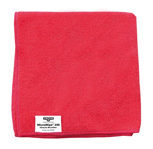 Unger Smart Color Micro Wipe 200 rot Microfasertuch 40x40cm