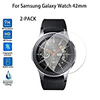 ‏‪2-PACK Tempered Glass Screen Protector For Samsung Galaxy Watch 42mm‬‏