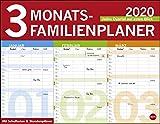 3-Monats-Familienplaner 2020 44x34cm