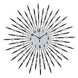 Amazia Style Glass Wall Clock (70.28 cm ...
