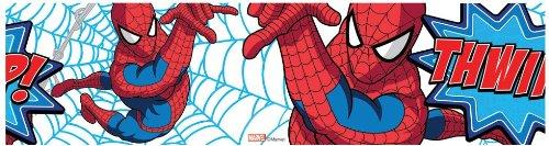 Spiderman Thwipp Bordüre Selbstklebende Tapetenbordüre