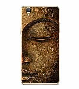 Fuson Gautam Buddha Designer Back Case Cover for Oppo F1 :: A35 (Budda Akkrum Amitav Anami Buddha Buddhadeva Chhandak)