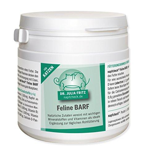 napfcheck Feline Barf - Nährstoffergänzung für Katzen - 125 g