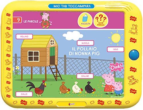 45747 LISCIANI   PEPPA PIG TAB TOCCAIMPARA