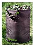 100litri fogliame sacco per rifiuti da giardino, Poliestere, anti-strappo fino a 60kg, 60x 50cm, sacco da giardino pieghevole
