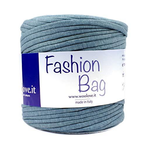 Woolove fettuccia in cotone da lavorare ad uncinetto ideale per creare cestini,tappeti, cuscini, bigiotteria, borse. molto altro ancora!