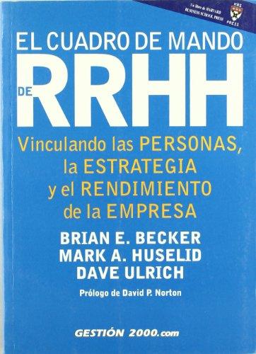 Libro cuadro de mando para RRHH