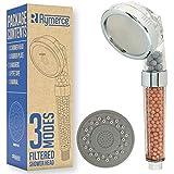 Rymerce Ionic Shower Head Handheld - 3way Function Filter Bead Replacement Higher Pressure, Water Saving