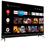 Vu 126 cm (50 inches) 4K Ultra HD Cinema Android Smart LED TV 50CA (Black) | With 40W Front Soundbar