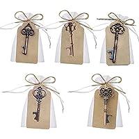 Llave abrebotellas para decoración de bolsas de recuerdos de boda de Awtlife, 50 piezas,