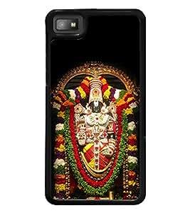 Lord Tirupati 2D Hard Polycarbonate Designer Back Case Cover for BlackBerry Z10