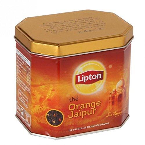 Lipton - Orange Jaipur Lipton - vrac/boite métal 200g - Tee-orange Lipton