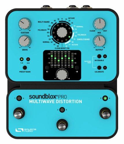 Source Audio Soundblox Pro Multiwave distorsions Pedal de efecto para guitarra azul