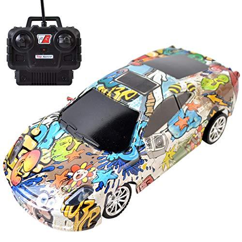 Momola RC Auto, Ferngesteuertes Auto 1:24 Skala 4WD 2,4 Ghz RC Racing Buggy Auto Speed Drift Spielzeug Bunt 15M-20M Entfernung Fahrzeug Spielzeug Radio gesteuertes Auto (A)