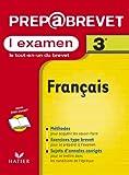Prépabrevet, l'examen : Français, 3e