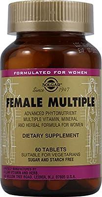 Solgar Female Multiple 60 Tablets by Solgar