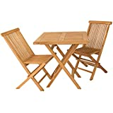 Conjunto muebles de terraza en teca - Portes Gratis