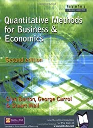 Quantitative Methods for Business and Economics (Modular Texts In Business & Economics)
