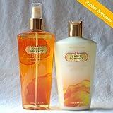 Victoria's Secret Fragrance Body Lotion & Mist Set - Amber romance