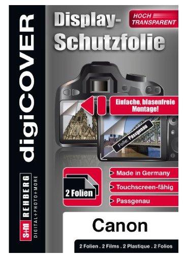digiCOVER Monitordisplayschutzfolie für Canon PowerShot SX240 HS/SX260 HS