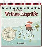 24 liebe Weihnachtsgrüße: Adventskalender & Geschenkanhänger