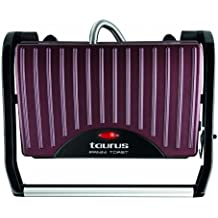 Taurus Toast & Go - Sandwichera (700 W, superficie antiadherente de 23 x 14.5 cm, bandeja recogegrasas)