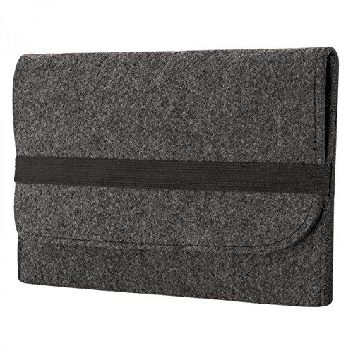 eFabrik Hülle für Microsoft Surface Book 2 / Microsoft Surface Book (13,5 Zoll) Tasche Schutz Cover Schutztasche Schutzhülle Sleeve Filz
